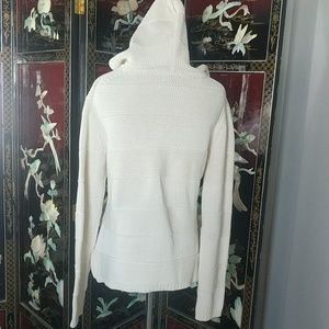 GAP Sweaters - GAP Cozy Hooded Knit Pullover Sweater Medium